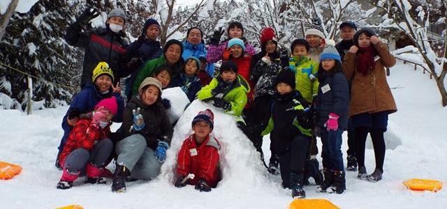 マイマイ雪遊びキャンプ のご案内